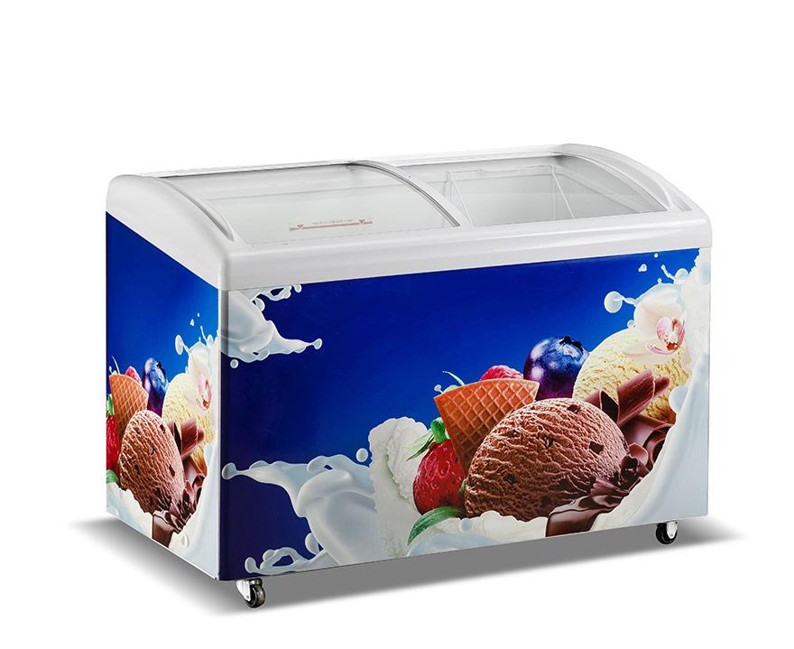 Changer Showcase Freezer SC/SD(W)-396