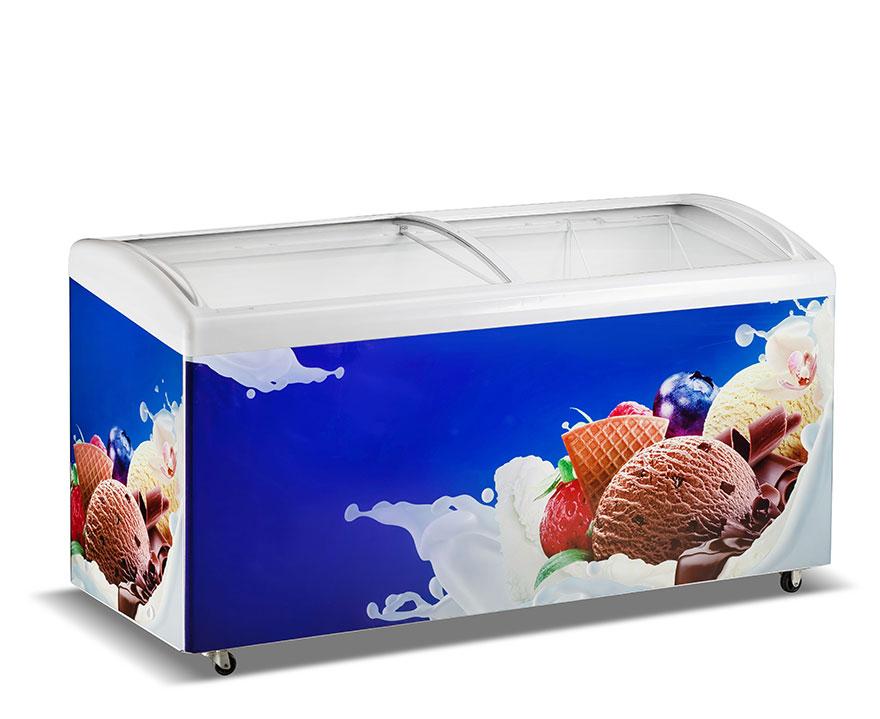 Changer Showcase Freezer SC/SD(W)-516