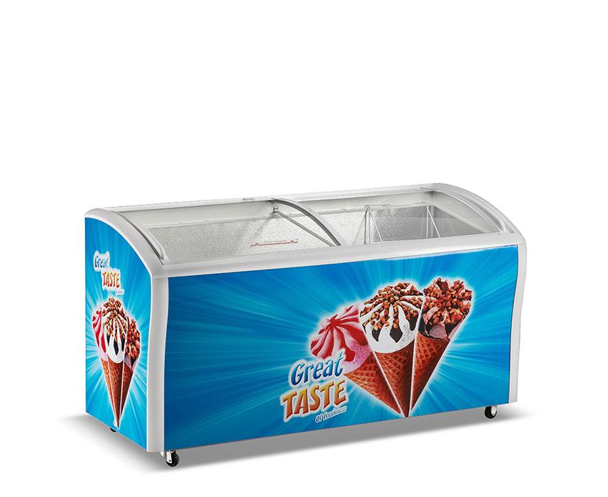 Changer Showcase Freezer SC/SD(W)-538