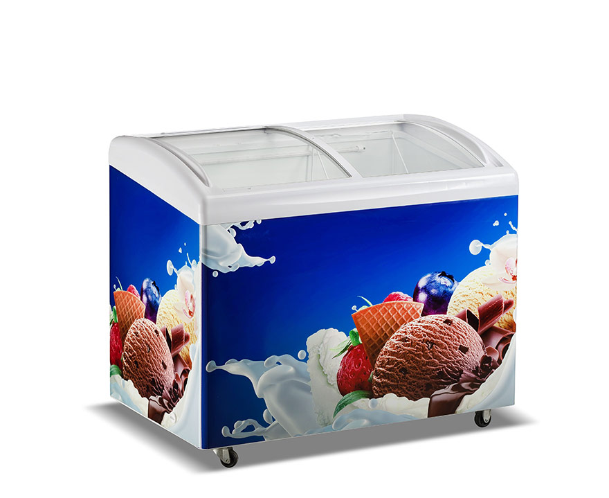 Changer Showcase Freezer SC/SD(W)-336