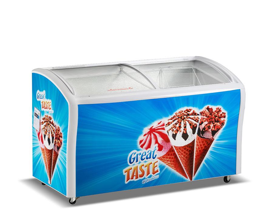 Changer Showcase Freezer SC/SD(W)-458