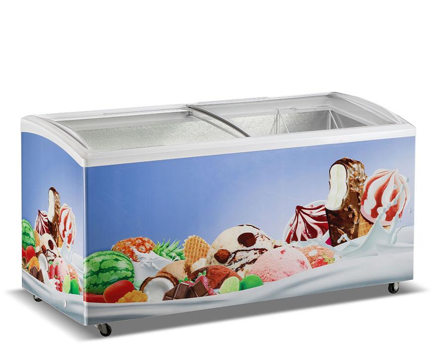 Changer Showcase Freezer SC/SD(W)-535