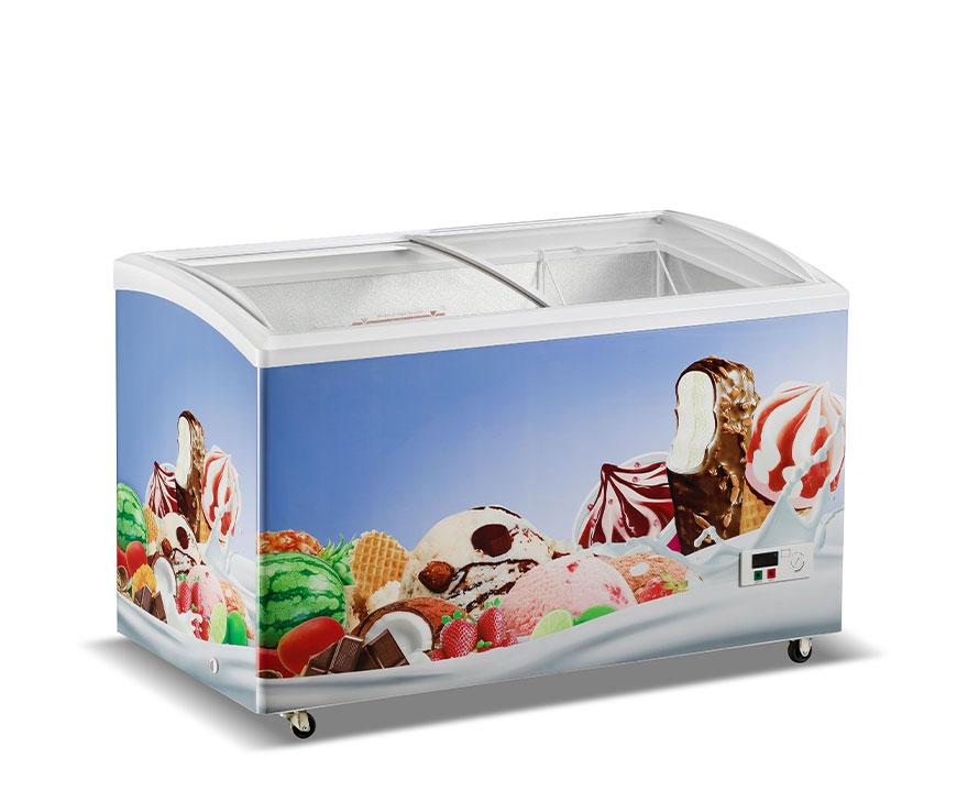 Changer Showcase Freezer SC/SD(W)-415
